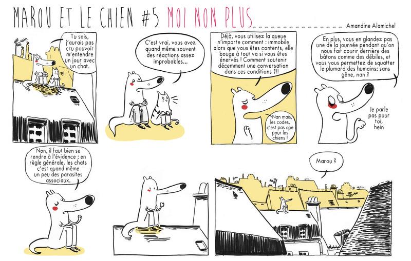 Marou et le chien #5 Moi non plus