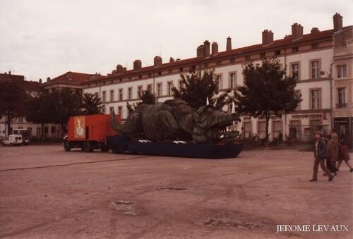 le cirque Jean Richard à Nancy( 2) en 1981 ( photos Jérôme Levaux)
