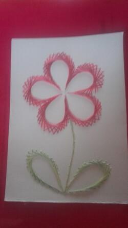 Une fleur....