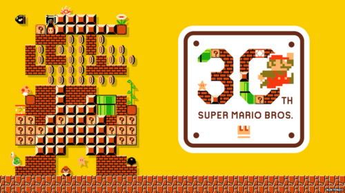 happy 30th birthday Mario