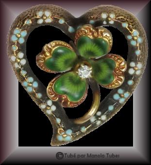 Tube bijoux St Patrick 2978
