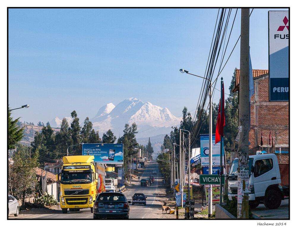 Huaraz et le Huascaran