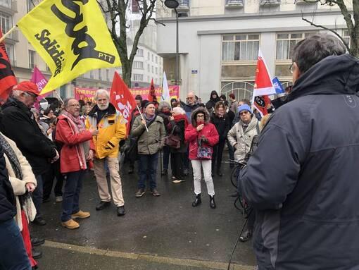 Brest. 200 personnes pour dire non à Marine Le Pen (OF.fr-30/01/20-13h22)