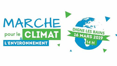 """*CO-VOITURAGE pour """"La marche pour le climat"""" Sam 16 Mars Digne 14H"""