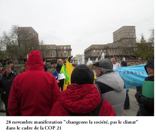 Changer le système, pas le climat !
