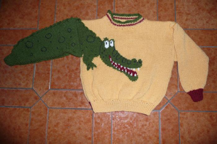Pull crocodile