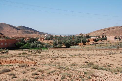 De beaux petit villages nichés dans la verdure
