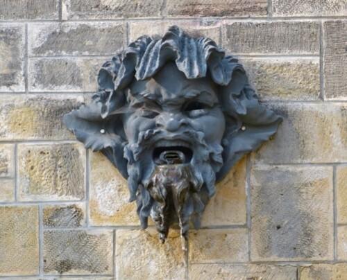 Sceaux mascaron fontaine Rodin 90801