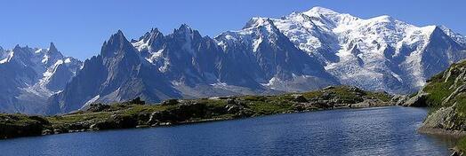 plus belles montagnes alpes mont-blanc