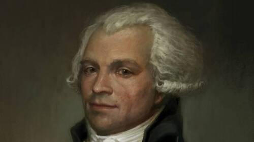 PROJET de CONSTITUTION FRANCAISE de 1791 ANNOTE par ROBESPIERRE
