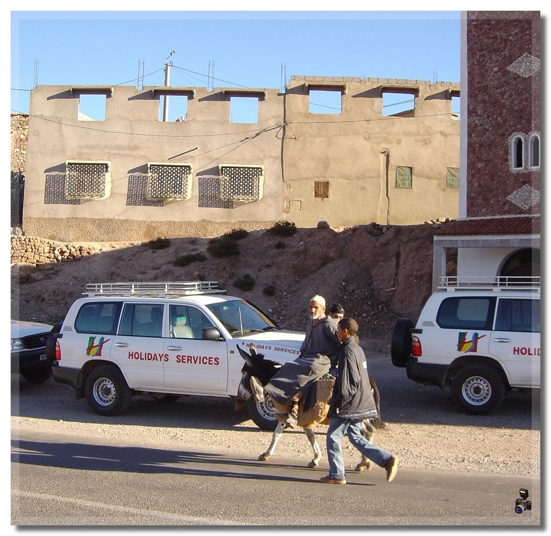 MAROC 2005 LES  PAYSAGES + OUARZAZATE