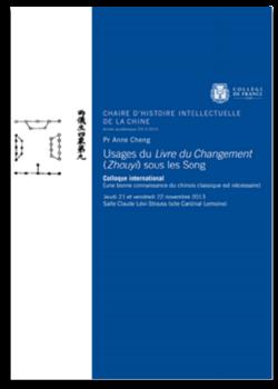 Usages du Livre du Changement - Les 21 et 22 novembre 2013