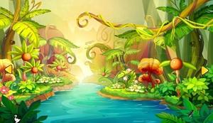 Jouer à Fantasy jungle boy escape