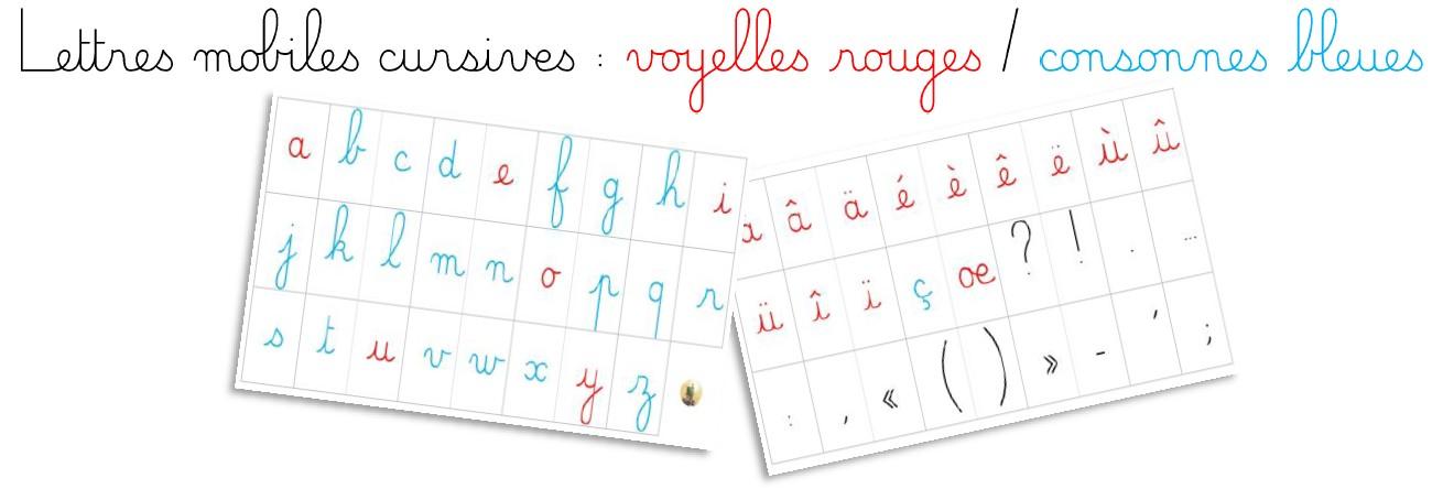 Mes boites à écrire : des lettres mobiles pour tous les goûts !