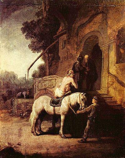 « La parabole du « bon samaritain ». (Luc 10, 25) - Élisabeth