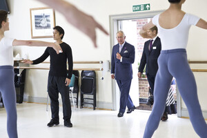 dance ballet class prince charles royal ballet