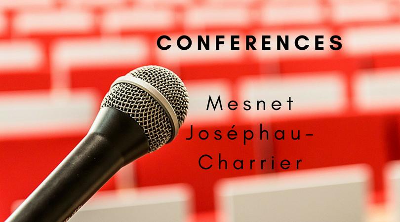 Conférences / Conscience quantique / Mesnet Joséphau-Charrier