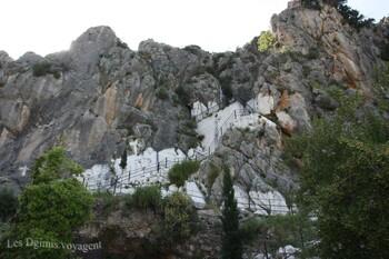 La petite chapelle d'Agios Nikolaos à Karathona