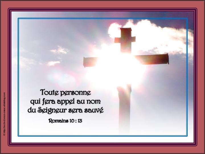 Sauvée par le Seigneur - Romains 10 : 13
