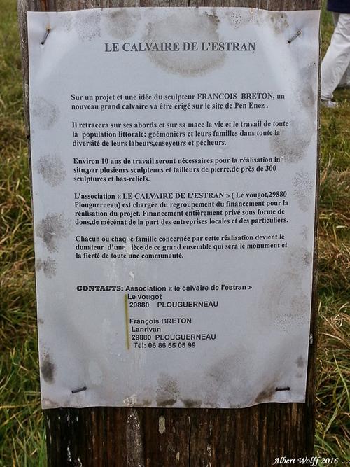 Breizh 2016 : un lieu : Le calvaire de l'Estran