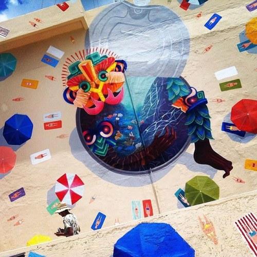 Curiot (Favio Martinez) et Mexiq'street art.