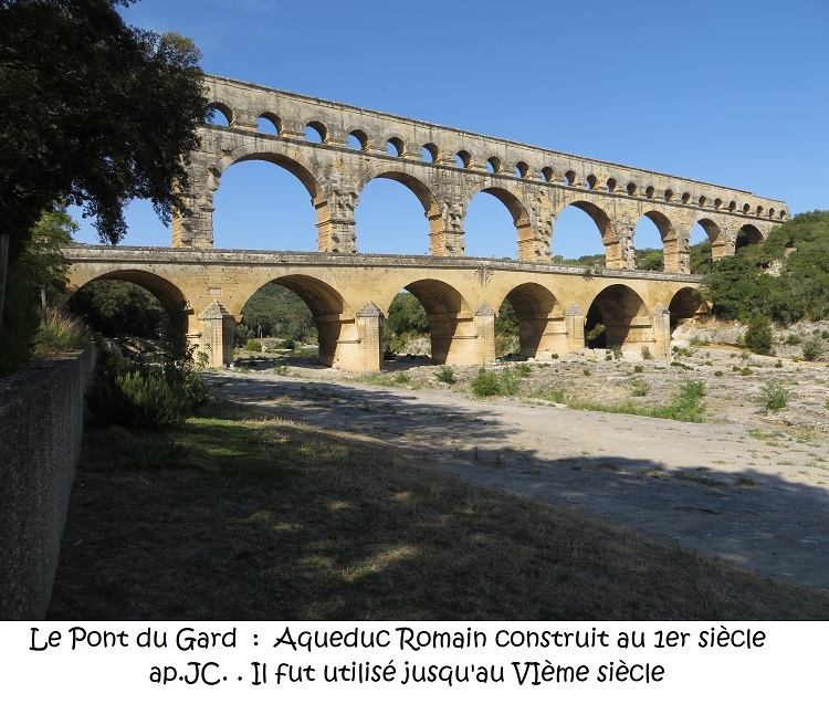 Les voyages de Françoise : Le pont du Gard