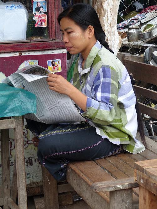 portrait d'une charmante birmane
