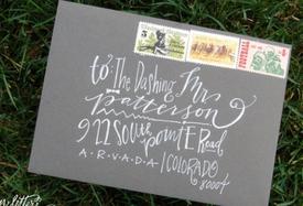 Idée sympa et facile pour égayer son courrier