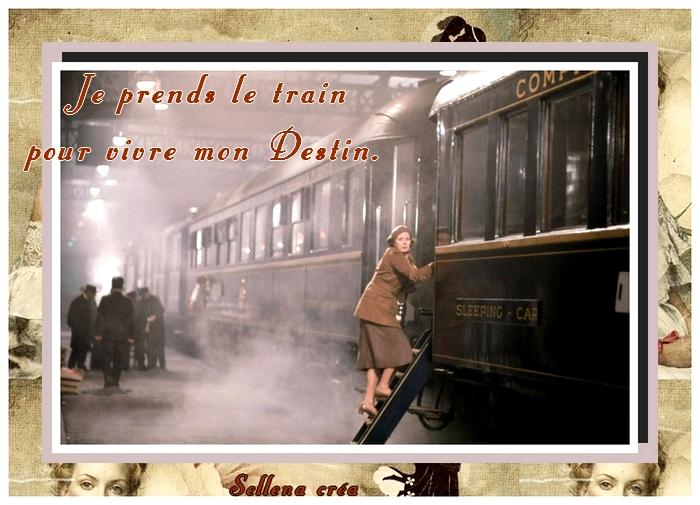 386 - Je prends le train
