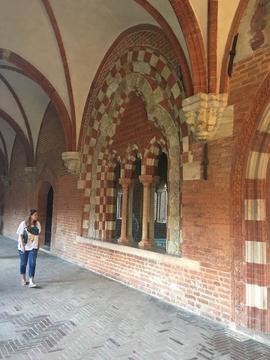 Cloitre de Chiaravalle della Colomba - salle capitulaire