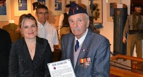 * Une donation de la France Libre au musée des combattants et de la liberté