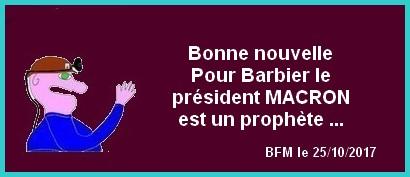 Chômage, Macron etc... les bonnes nouvelles du mercredi.