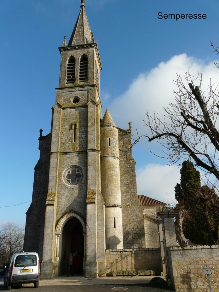 L'église - Sempesserre