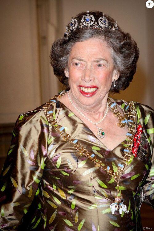 Mort de la Princesse Elisabeth de Danemark