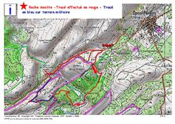 Le Sentier de la Roche Insolite depuis Opoul-Périllos