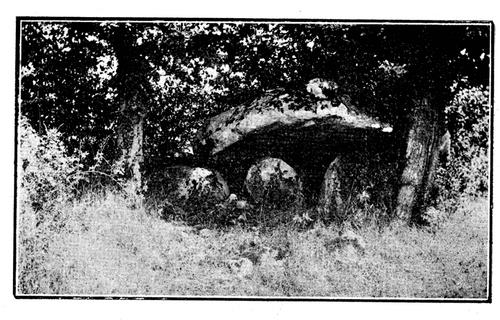 Le Pin (79) : le dolmen de Prouette....