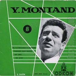 Yves Montand, 1956