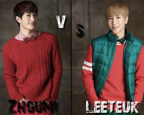 ZhouMi (SuJu M) vs LeeTeuk (SuJu) - Round 12