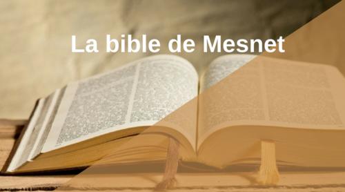 Une bible est un mode d'emploi technique