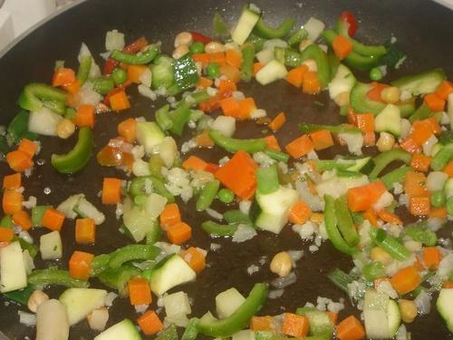 Couscous et saucisses de falafels