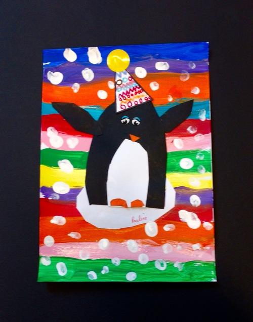 Un pingouin du pôle nord