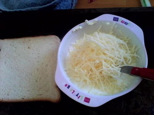 Tartine Brocolis et fromage