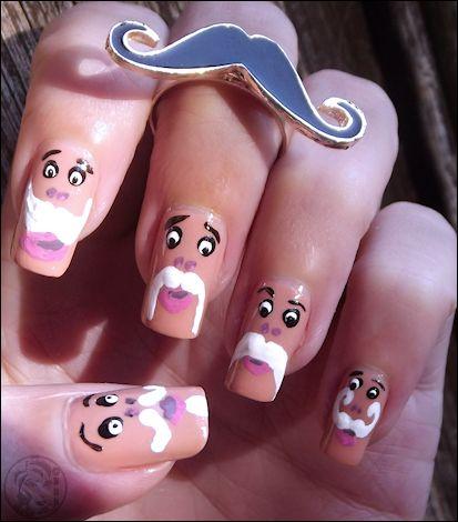 Nailstorming Moustache