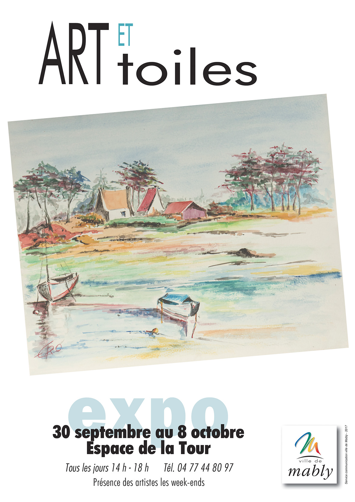 EXPO Art et Toile - Mably