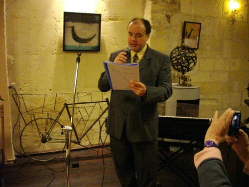 Présentation de ESCAPADES avec le Conservatoire de musique de la C.D.C de Cognac.