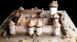 maquette Dourdan