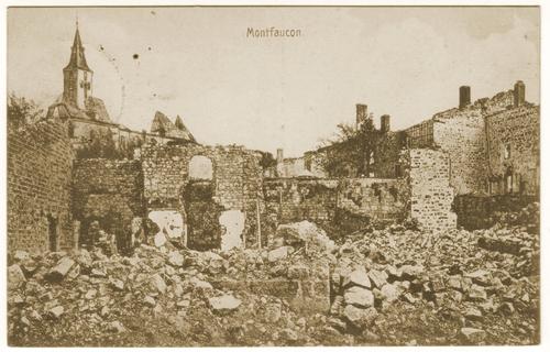 1918 Romagne sous Montfaucon