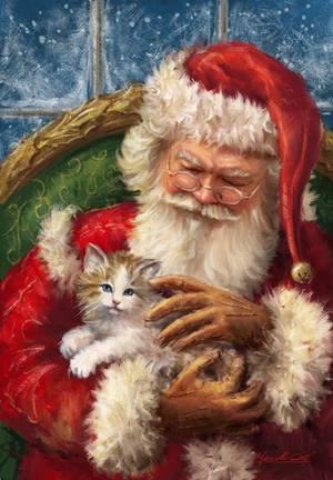 Lettre au Père Noël pour les animaux