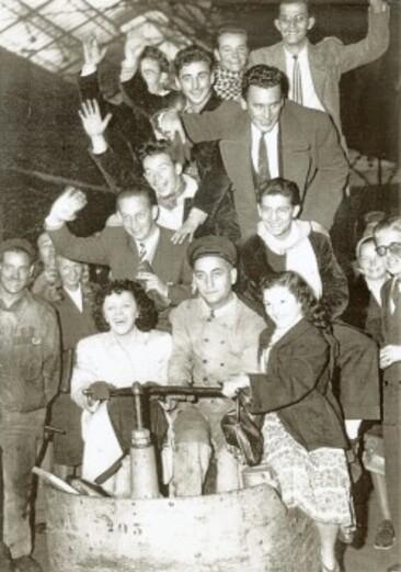 Départ USA 1947