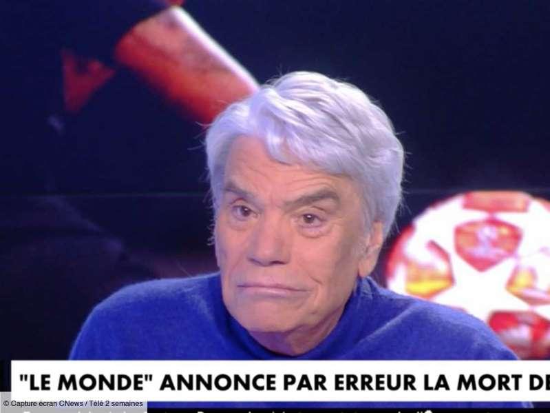 """Bernard Tapie annoncé mort sur le site du Monde, il réagit : """"Qu'ils attendent quelques semaines…"""" (VIDEO)"""